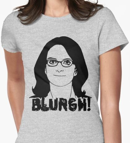 Blurgh! Womens Fitted T-Shirt