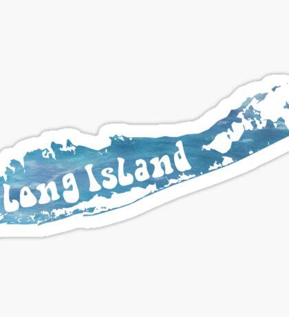 Long Island Watercolor Sticker
