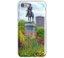 Boston Common Study 6  iPhone Case/Skin