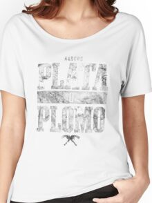 narcos plata o plomo Women's Relaxed Fit T-Shirt