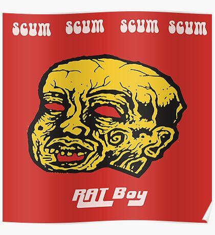 Rat Boy - Scum Head Poster