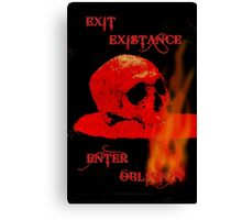 EXIT EXISTENCE - 097 Canvas Print