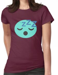 Snoring Candy  Womens Fitted T-Shirt