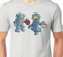 Halloween robot boy and girl costume Unisex T-Shirt