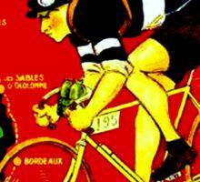 TOUR DE FRANCE; Vintage Cycle Racing Advertising Print Sticker