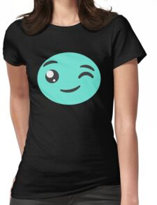 Winking Candy  Womens Fitted T-Shirt