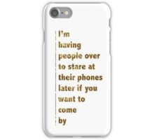 technology these days iPhone Case/Skin