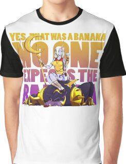 No one expects the banana - Soraka/Warwick Graphic T-Shirt