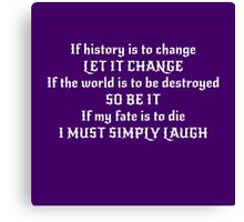 Magus - Change History Canvas Print