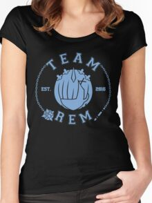 Team Rem Women's Fitted Scoop T-Shirt