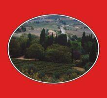 Pienza Landscape Kids Tee