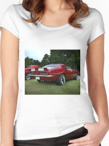 1968 Chevy Camaro RS/SS Women's Fitted Scoop T-Shirt
