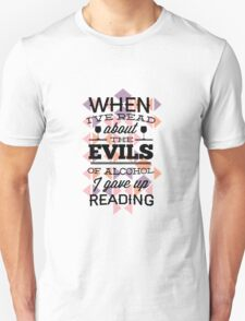 Humor text Design Unisex T-Shirt