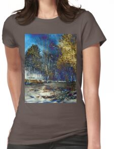 Edge of Reality Womens Fitted T-Shirt