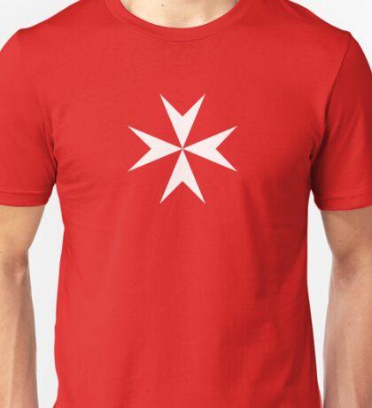 Maltese Cross Flag T-Shirt Unisex T-Shirt