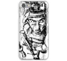Running Soldier iPhone Case/Skin