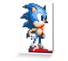 Sonic Chilling Greeting Card