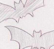 Soaring Bats Sticker