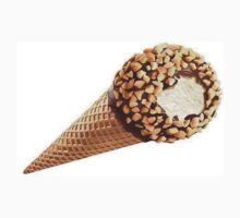 Ice Cream cone chocolate and nuts One Piece - Short Sleeve