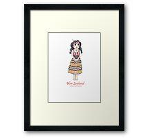 Teresa's doll Framed Print
