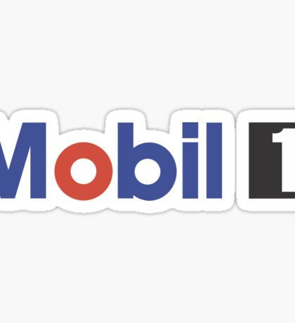 Mobil 1 Logo Sticker
