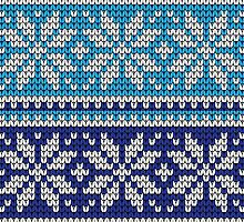 Ugly Christmas Sweater Snowflake by HolidaySwaggC