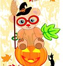 Halloween Teddy with glasses (4060 Views ) by aldona