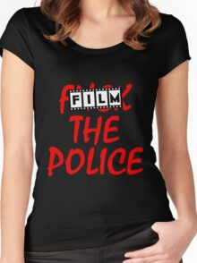Film the Police Women's Fitted Scoop T-Shirt