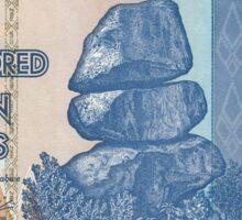 100 Trillion Zimbabwe dollars Sticker