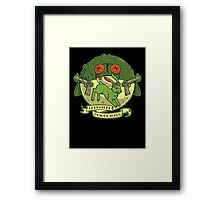 The Righteous Indignation of Captain O'Hare Framed Print