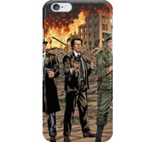 Action Heroes from the 60s and 70s by Al Rio iPhone Case/Skin