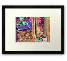 Al Baes baies Framed Print