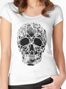 Crystal Skull Infrared Women's Fitted Scoop T-Shirt