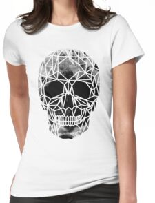 Crystal Skull Infrared Womens Fitted T-Shirt