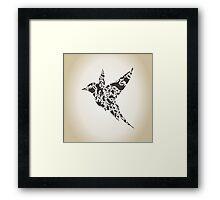 Bird an animal Framed Print