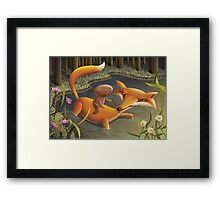 The Gingerbread Man Framed Print