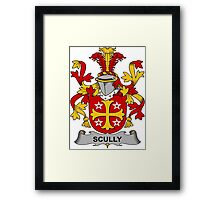 Scully Coat of Arms (Irish) Framed Print