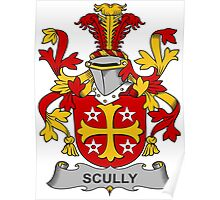 Scully Coat of Arms (Irish) Poster