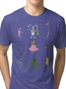 Cartoon film an animal Tri-blend T-Shirt