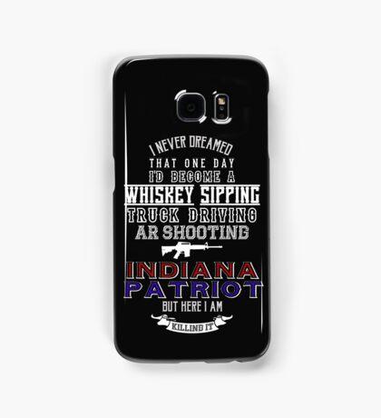 Indiana Patriot Samsung Galaxy Case/Skin