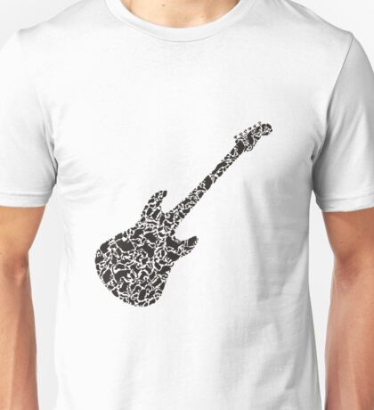 Cat a guitar Unisex T-Shirt