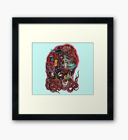 The Octopus Project: Squidtastic Framed Print