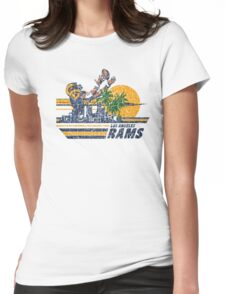 L.A. RAMS Womens Fitted T-Shirt