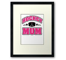 Hockey Mom Framed Print