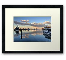 Ocean Sunset at Nelson Bay NSW Framed Print