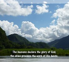 Praise Series - The Heavens Declare: Psalm 19:1 by MyArtefacts