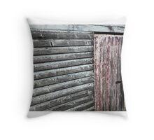 the door to Old Maldon - Australian gold rush town.  Throw Pillow