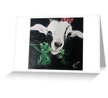 Goats of Anarchy Ft. Justice for Grace Greeting Card