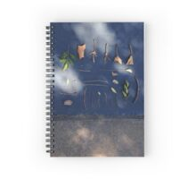 Sticks and Leaves Spiral Notebook
