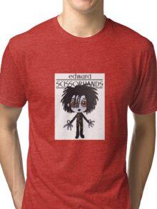 E. Scissorhands Tri-blend T-Shirt